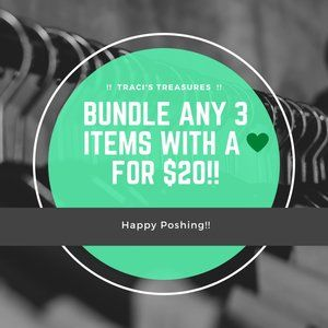 💚 3 items for $20 💚